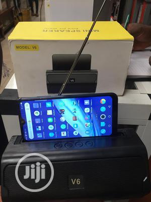 V6 Pro Bluetooth Speaker With FM Radio   Audio & Music Equipment for sale in Lagos State, Ikeja