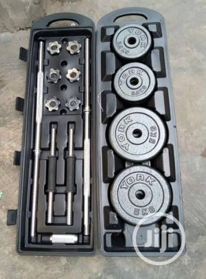 Get Ur 50kg Weight Lifting Set In A Briefcase | Sports Equipment for sale in Lagos State, Ikeja