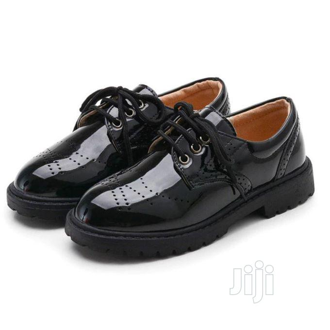 Archive: British Style Boy's Leather Shoe