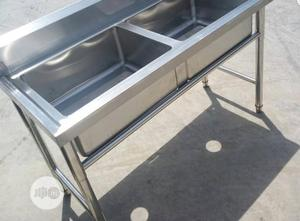 Double Tank Sink | Restaurant & Catering Equipment for sale in Lagos State, Ojo