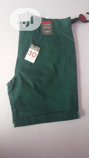 Green Chinos Short | Children's Clothing for sale in Lagos State, Ojodu