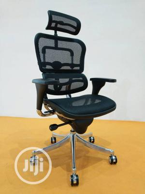 Executive Glass Desk With Ergonomic Mesh Chair  | Furniture for sale in Lagos State, Ojo