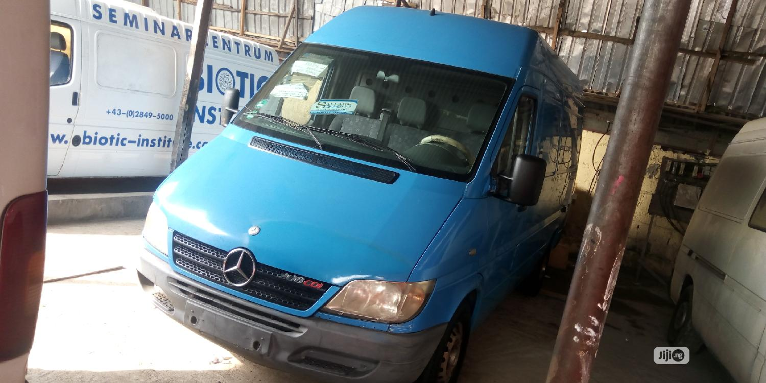 Mercedes Sprinter 2005 Blue