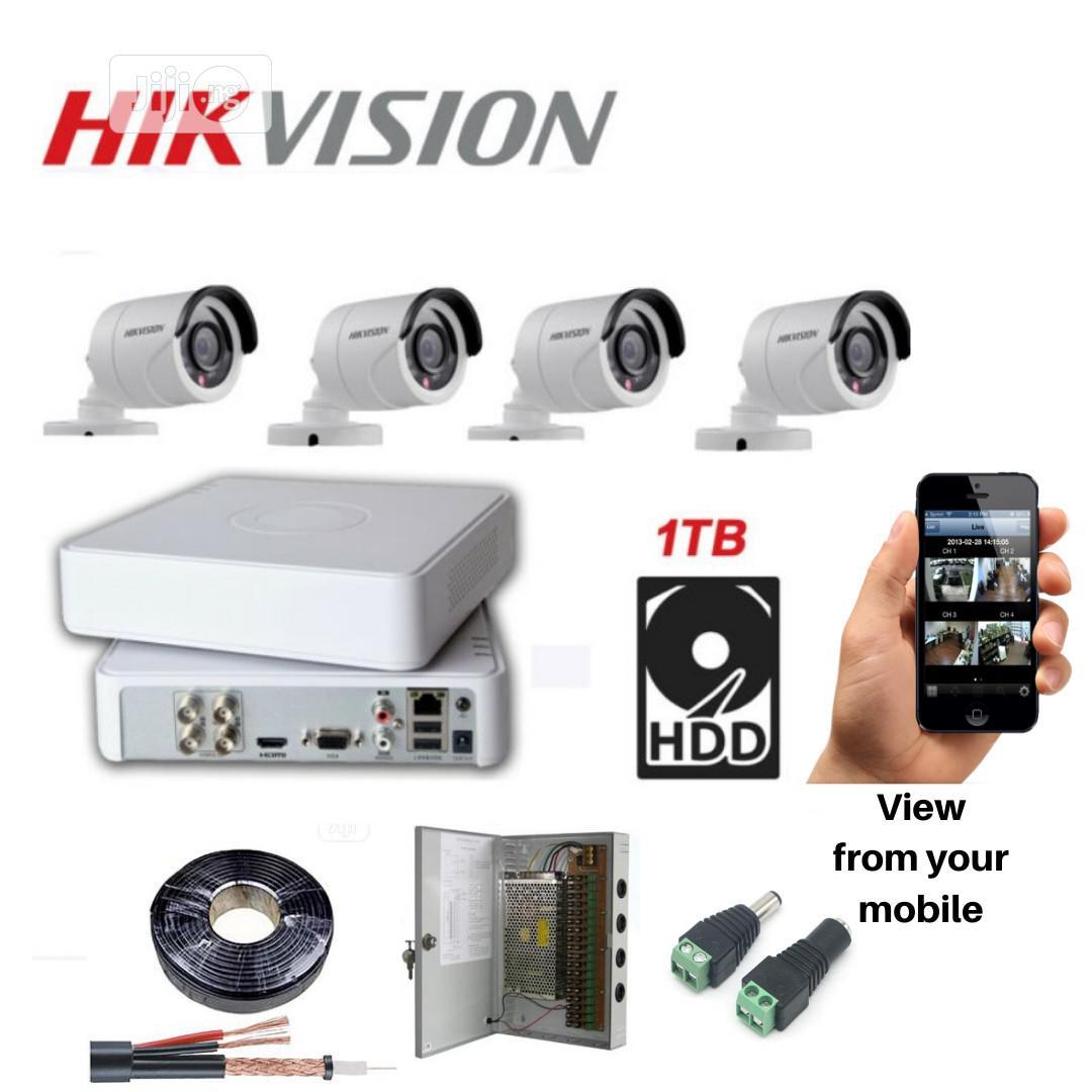 4 Channel CCTV Combo D111