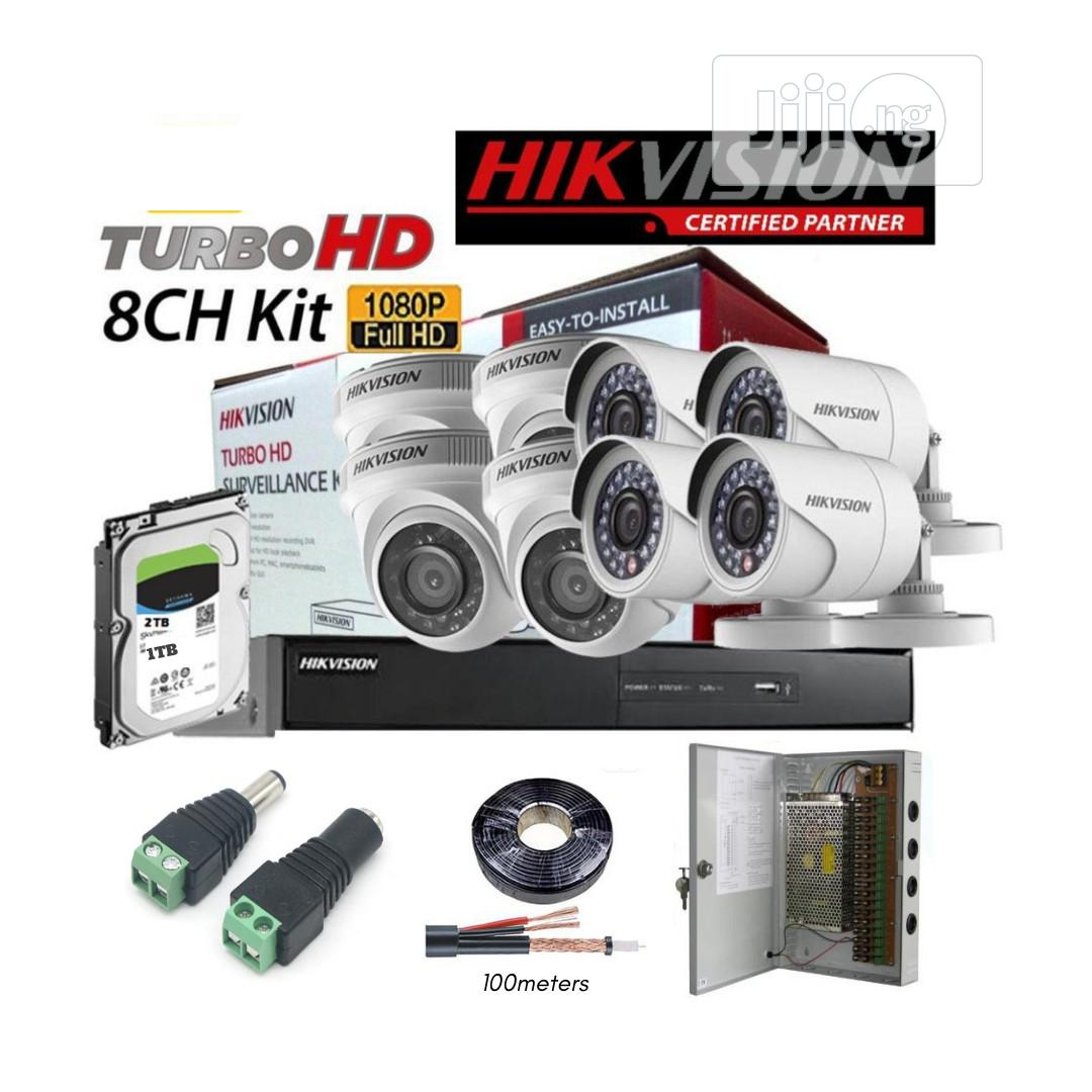 8 Channel CCTV Combo D111 N30