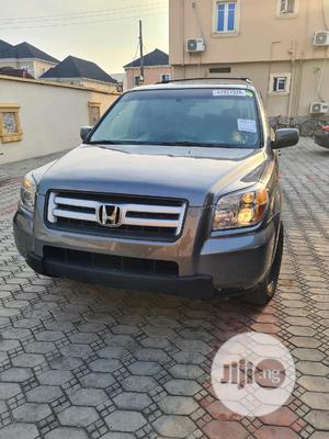 Honda Pilot 2007 EX-L 4x4 (3.5L 6cyl 5A) Gray | Cars for sale in Lagos State, Amuwo-Odofin