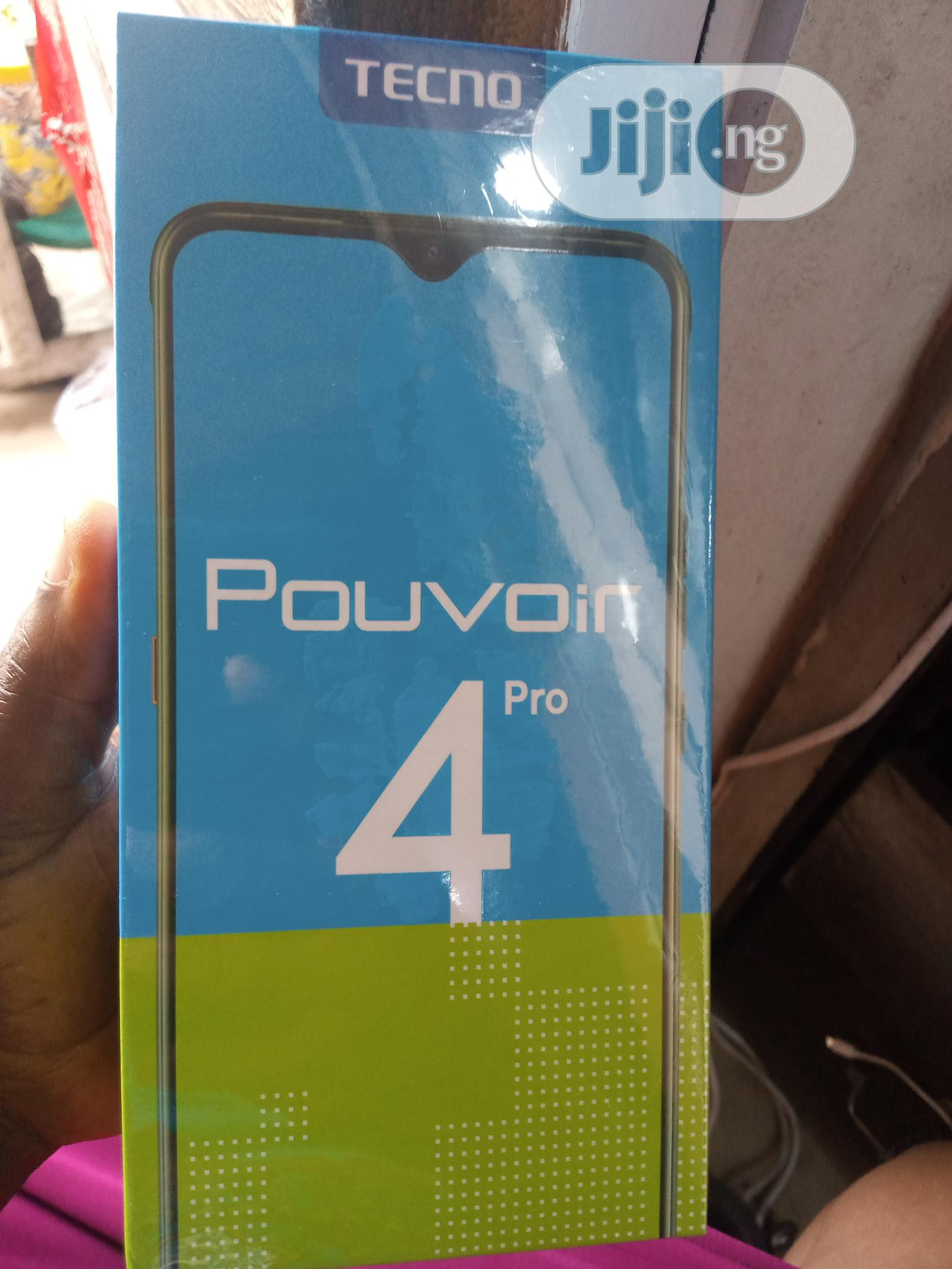New Tecno Pouvoir 4 Pro 128 GB Blue | Mobile Phones for sale in Ikeja, Lagos State, Nigeria