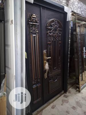 4ft By 7ft Casted Copper Security Door   Doors for sale in Lagos State, Orile