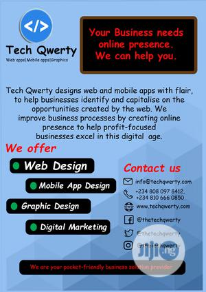 Web, Mobile App Development and Graphic Design   Computer & IT Services for sale in Lagos State, Ojo