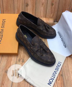 Louis Vuitton Luxury Men Leather Loafers | Shoes for sale in Lagos State, Lagos Island (Eko)