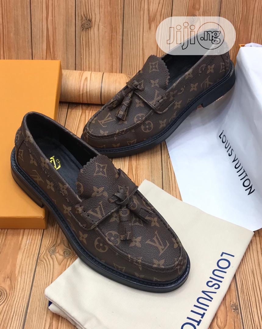 Louis Vuitton Luxury Men Leather Loafers | Shoes for sale in Lagos Island (Eko), Lagos State, Nigeria