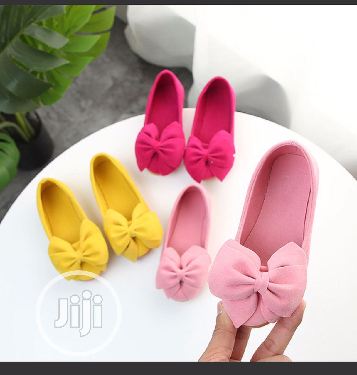 Archive: Pink Flat Shoe for Kids