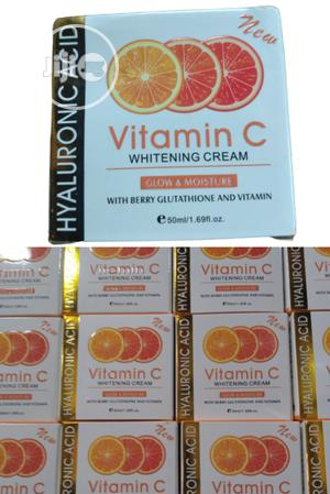 Vitamin C Whitening Cream Hyaluronic Acid -Spot Anti-Aging | Skin Care for sale in Lagos State, Apapa