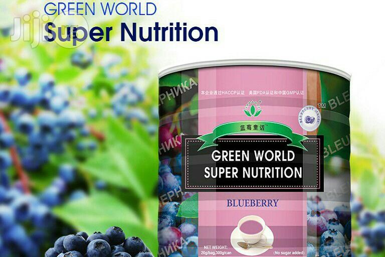 Green World Blueberry Super Nutrition Removes Free Radicals