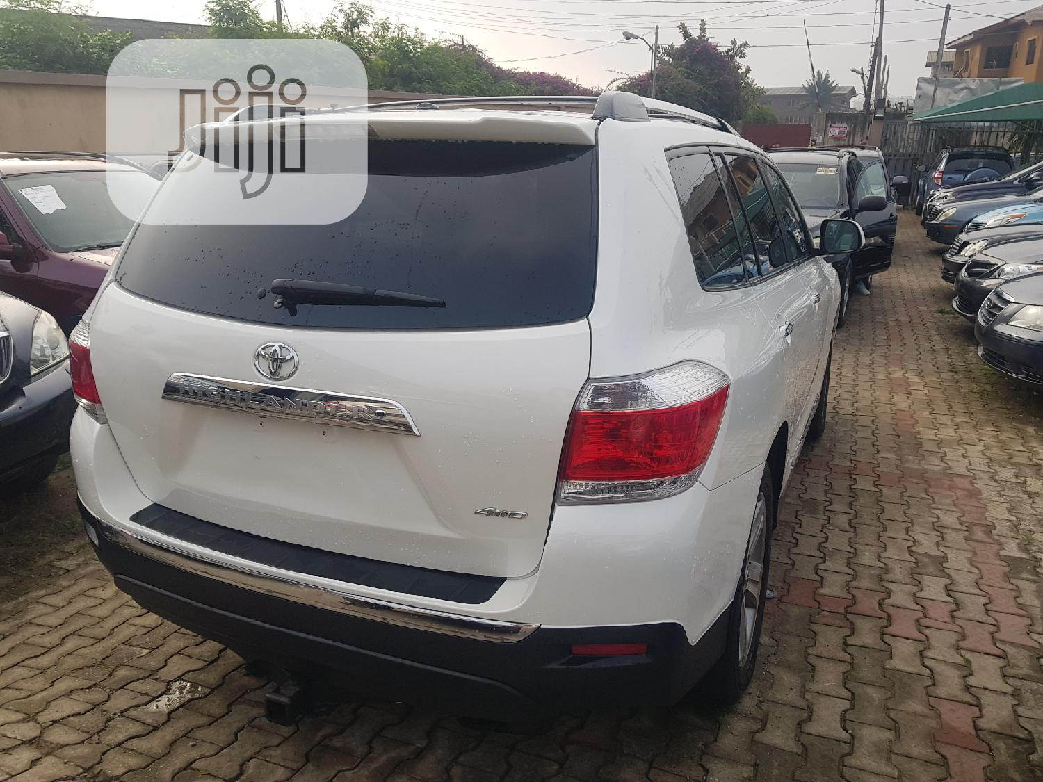 Toyota Highlander 2013 Limited 3.5L 2WD White   Cars for sale in Ikeja, Lagos State, Nigeria
