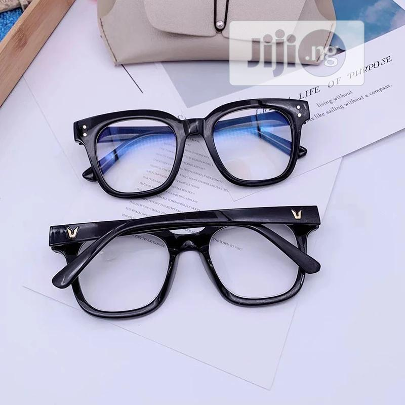 Big Frame Anti-Blue Ray Computer Glasses | Clothing Accessories for sale in Agege, Lagos State, Nigeria