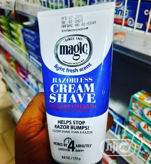 Magic Razorless Cream Shave | Skin Care for sale in Lagos State, Surulere