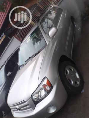 Toyota Highlander 2005 Limited V6 Silver | Cars for sale in Lagos State, Isolo