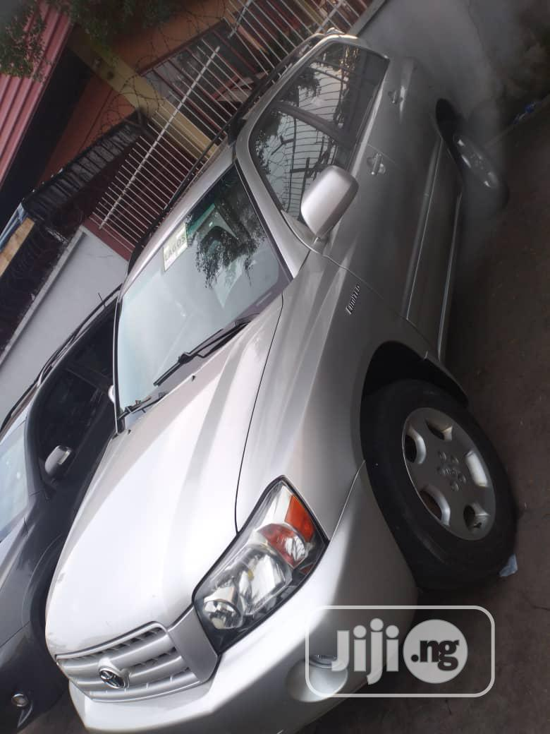 Toyota Highlander 2005 Limited V6 Silver