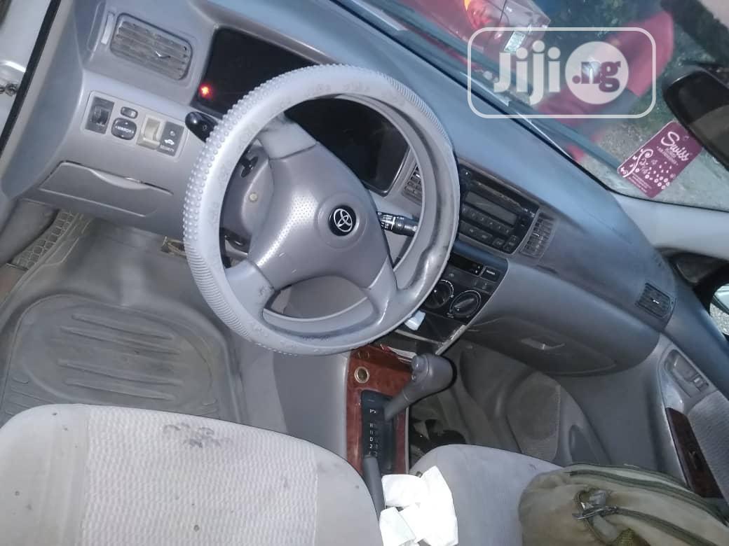 Archive: Toyota Corolla 2004 1.6 GLS Silver