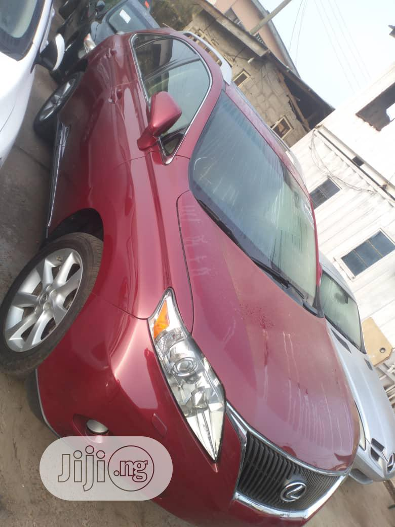 Lexus RX 2012 350 AWD Red   Cars for sale in Isolo, Lagos State, Nigeria