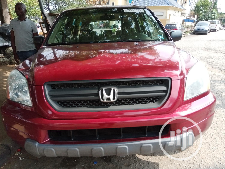 Honda Pilot 2005 EX 4x4 (3.5L 6cyl 5A) Red