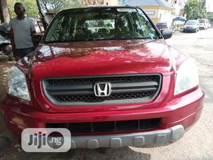 Honda Pilot 2005 EX 4x4 (3.5L 6cyl 5A) Red | Cars for sale in Lagos State, Amuwo-Odofin
