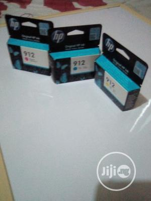 HP 912 Ink Cyan Yellow And Magenta | Accessories & Supplies for Electronics for sale in Lagos State, Apapa