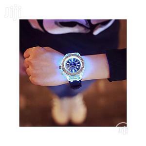 Geneva Luminous Sport Waterproof Quartz Black   Watches for sale in Lagos State, Agege