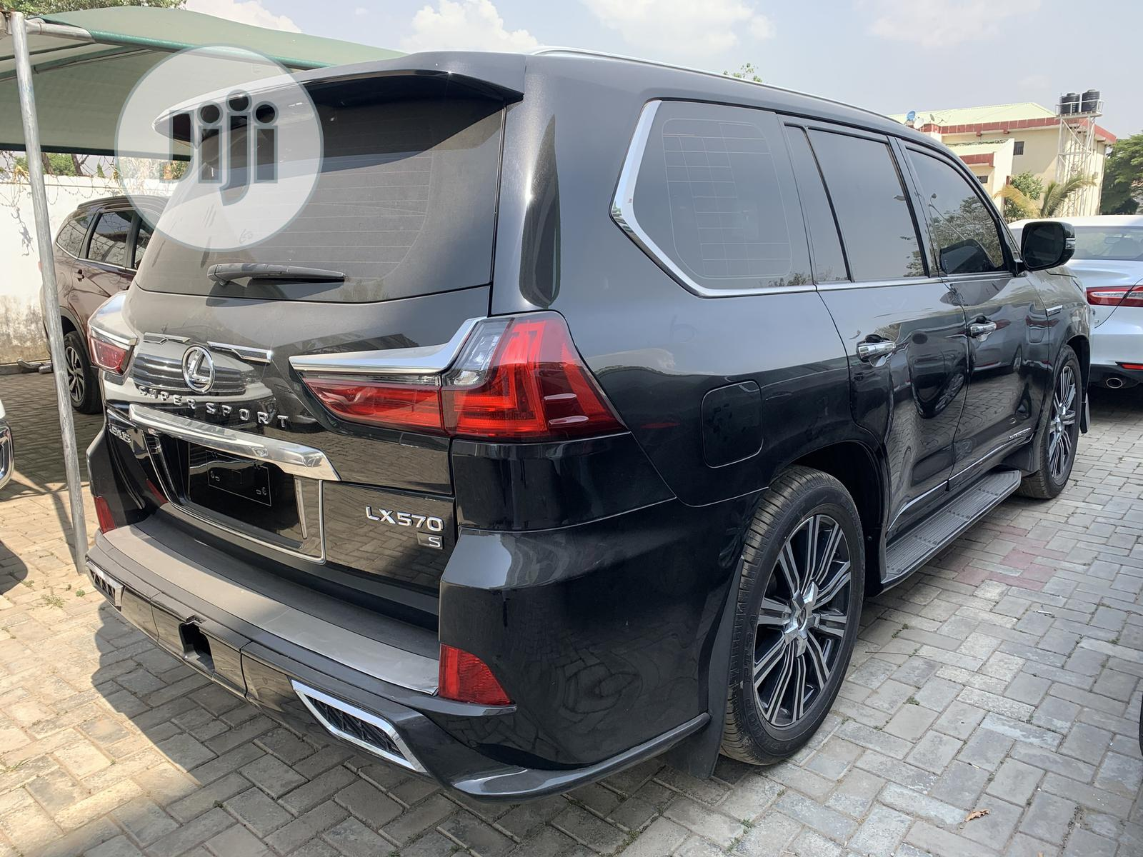New Lexus LX 2020 570 Three-Row Black | Cars for sale in Wuse 2, Abuja (FCT) State, Nigeria