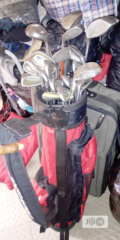 Golf Bag With Sticks (Full Kit)