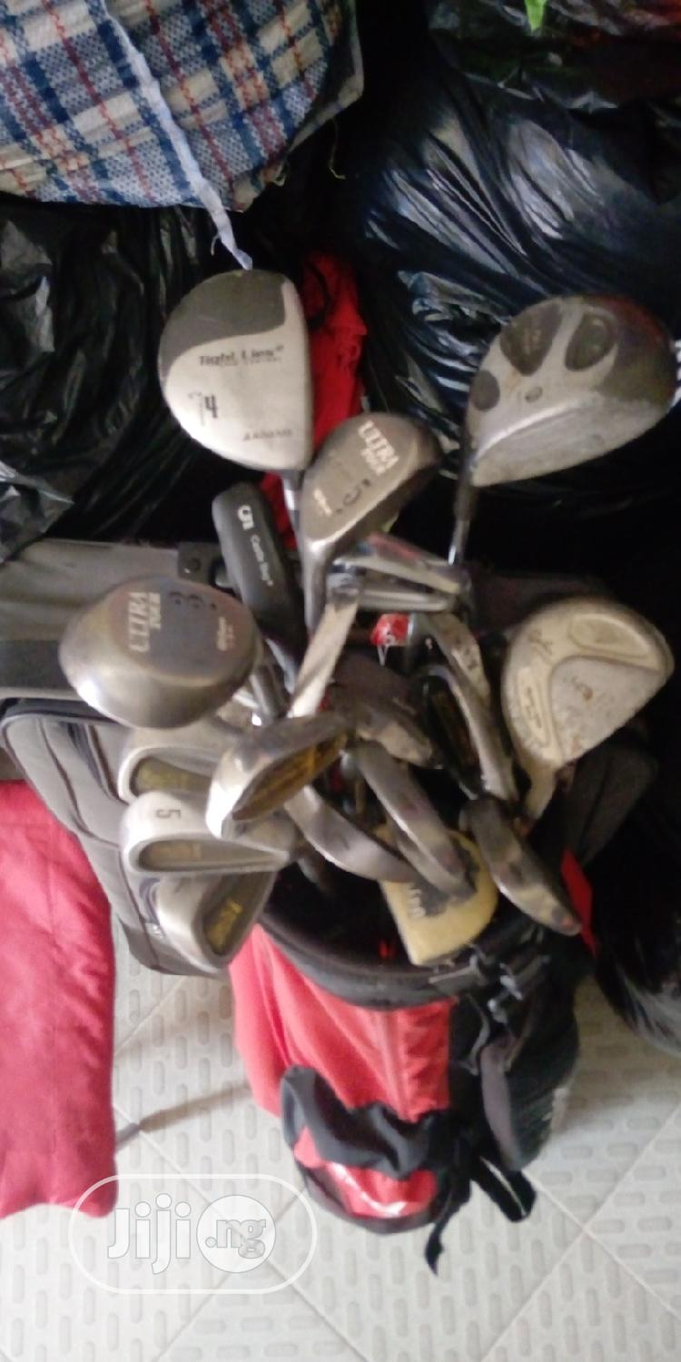 Golf Bag With Sticks (Full Kit) | Sports Equipment for sale in Ajah, Lagos State, Nigeria