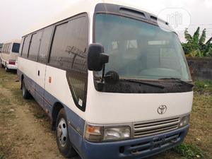 Toyota Coaster Bus Full Option Low Milage Cool Ac   Buses & Microbuses for sale in Lagos State, Ikeja
