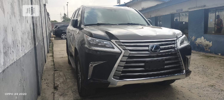 Lexus LX 2017 Black   Cars for sale in Oshodi, Lagos State, Nigeria