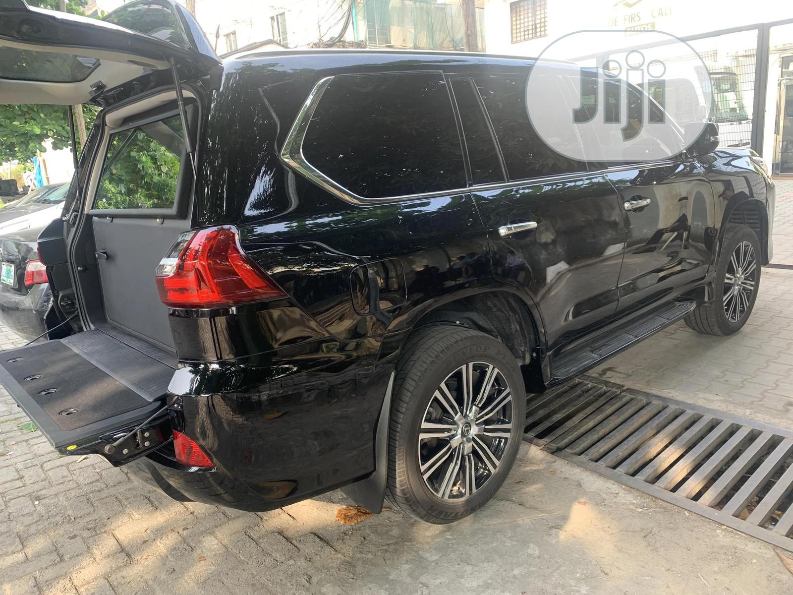 New Lexus LX 2019 570 Two-Row Black | Cars for sale in Lekki, Lagos State, Nigeria