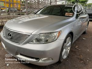 Lexus LS 2008 460 Silver | Cars for sale in Lagos State, Ikeja