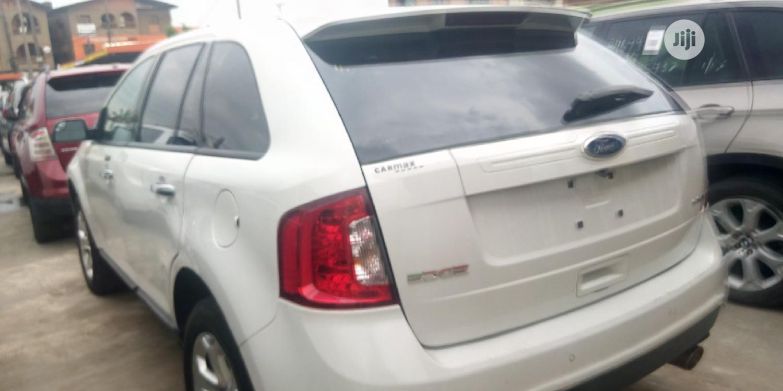 Ford Edge 2010 White   Cars for sale in Ifako-Ijaiye, Lagos State, Nigeria