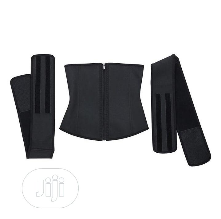 Latex Detachable Double Belt Corset Waist Trainer | Clothing Accessories for sale in Surulere, Lagos State, Nigeria