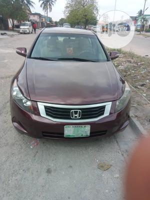 Honda Accord 2008 2.0i-VTEC Executive Red   Cars for sale in Lagos State, Amuwo-Odofin