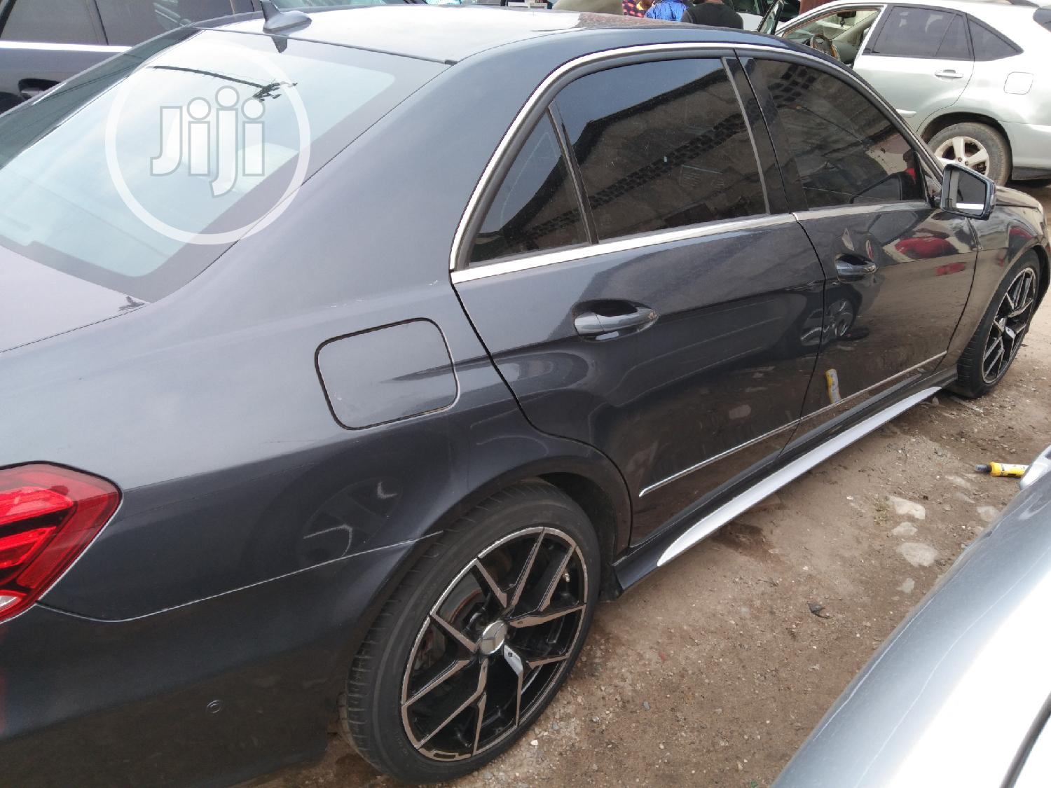 Mercedes-Benz E350 2010 Gray | Cars for sale in Apapa, Lagos State, Nigeria