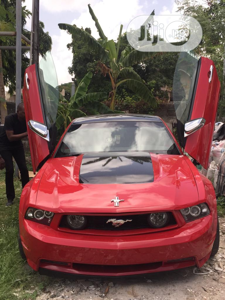 Ford Mustang 2012 Red