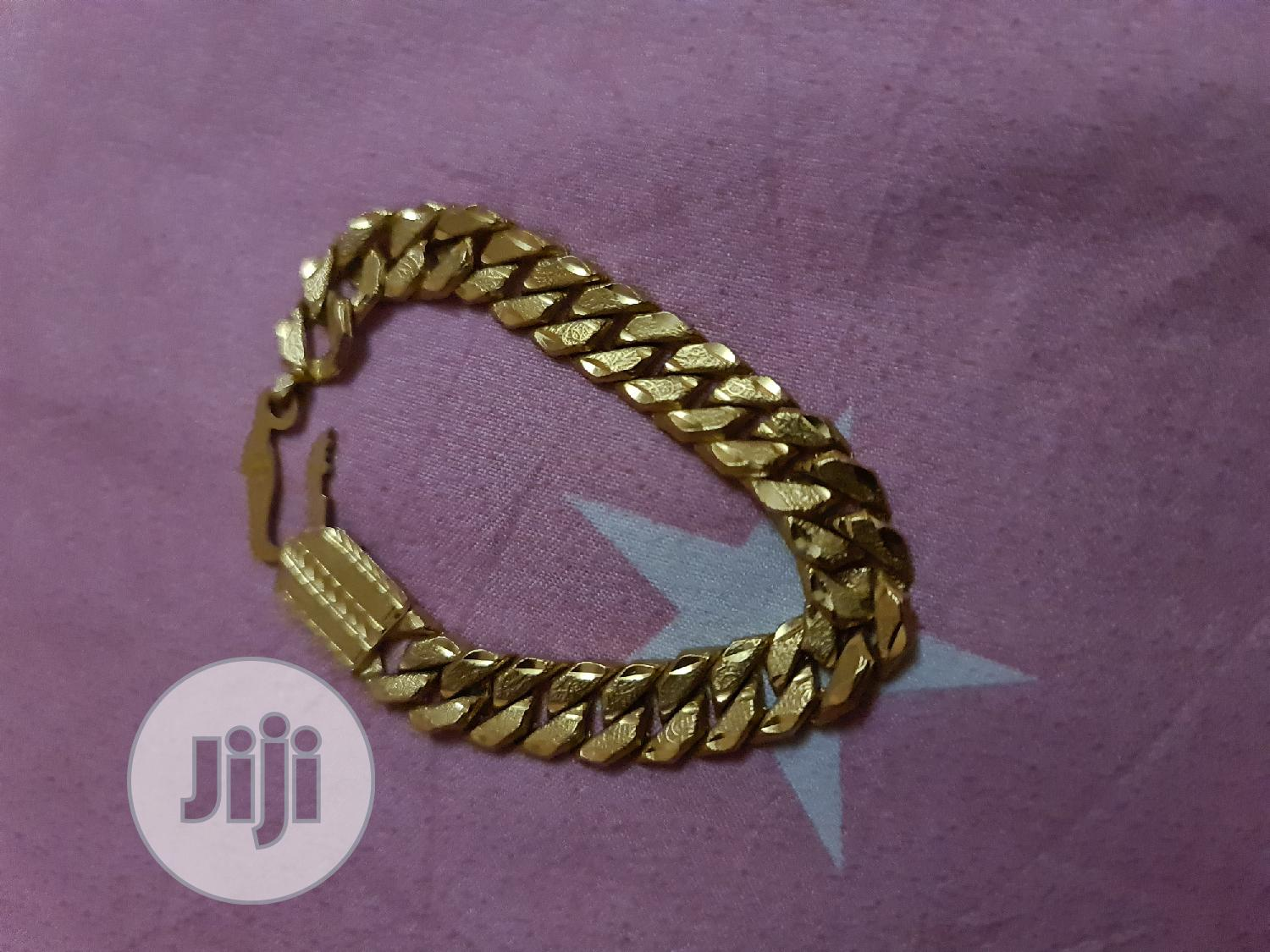 Gold Bracelet   Jewelry for sale in Oshimili South, Delta State, Nigeria