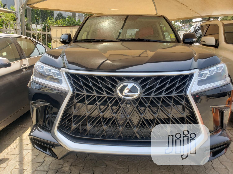 Lexus LX 2020 Black