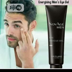 Novage Men Eye Rescue Gel-15ml | Skin Care for sale in Lagos State, Ikeja