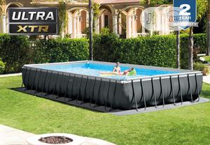Intex Biggest Swimming Pool 32 By 16ft   Sports Equipment for sale in Lagos State, Abule Egba