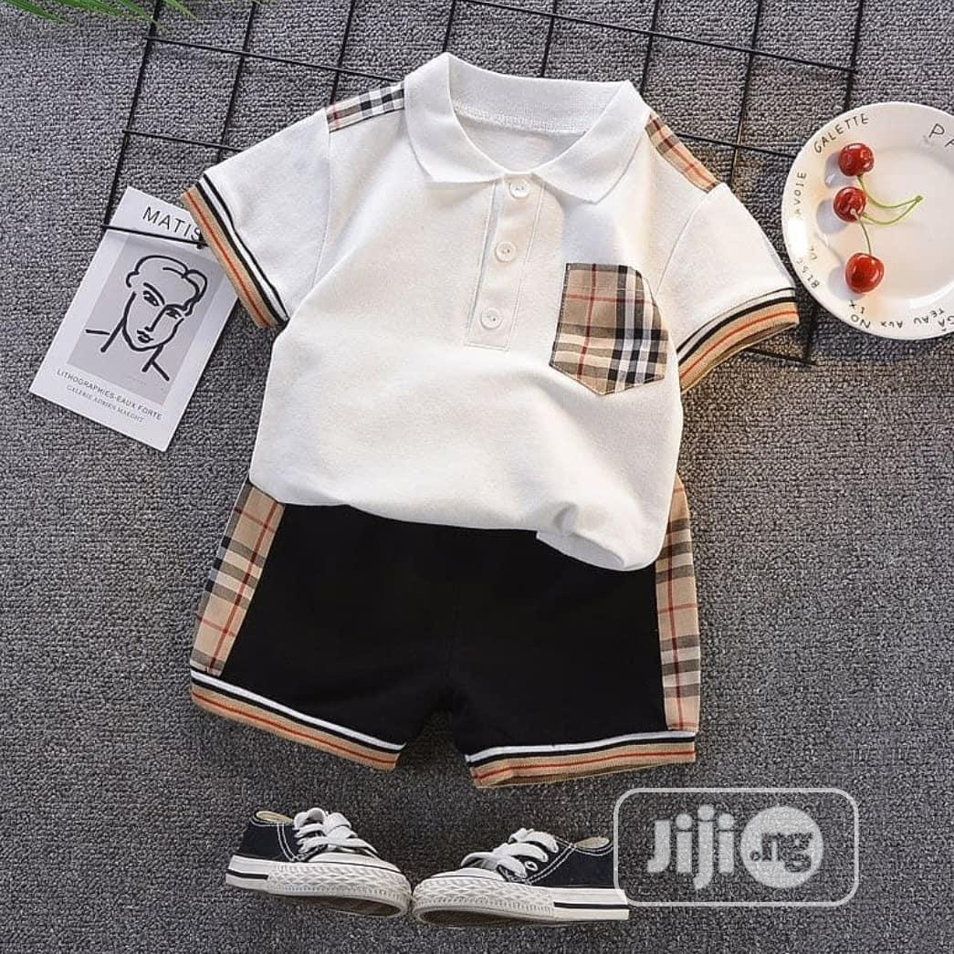 Archive: Cute Two Piece Baby Boy Set