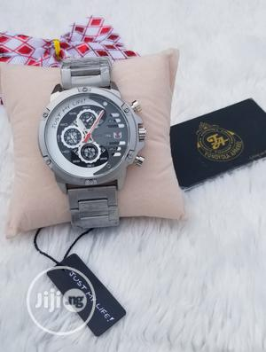 Silver Nepic Bold Face Wristwatch | Watches for sale in Lagos State, Ajah