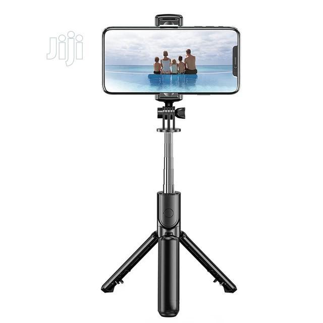 Bluetooth Selfie Stick With Tripod Stand