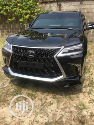 New Lexus LX 2020 570 Three-Row Black   Cars for sale in Lagos State, Victoria Island