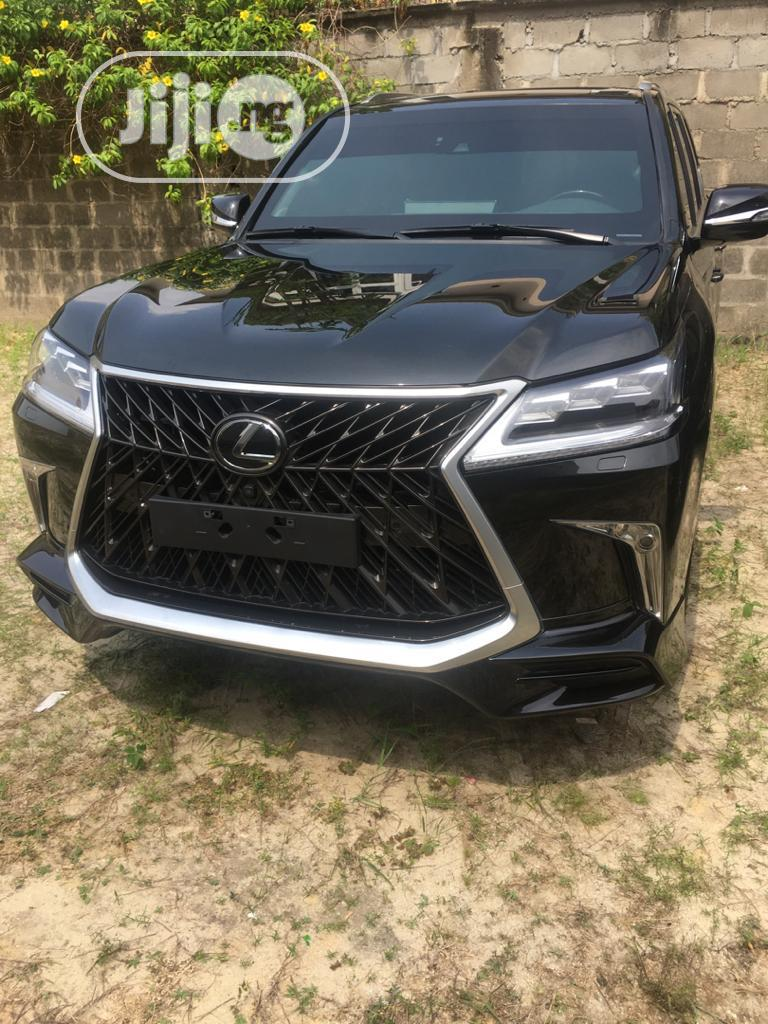 New Lexus LX 2020 570 Three-Row Black